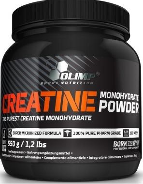 Creatine Monohydrate Powder 550 g - Monohydrat kreatyny