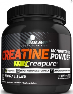 Creatine Monohydrate Powder Creapure - Kreatyna Olimp