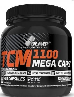 Jabłczan kreatyny TCM 1100 Mega Caps 400 kap.