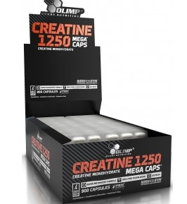 OLIMP Creatine 1250 Mega Caps 900 kap. - Wysokomikronizowana kreatyna