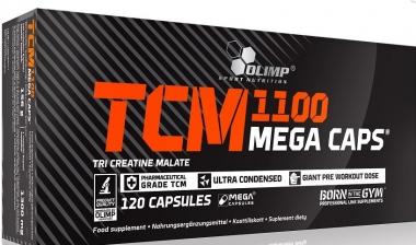 TCM 1100 Mega Caps 30 kap.- Jabłczan kreatyny w kapsułce